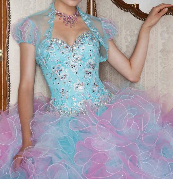 0f4c05a6867a ombre plesové šaty na maturitní ples modré - plesové šaty